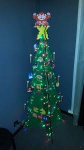 make your own festive christmas tree in 8bit style