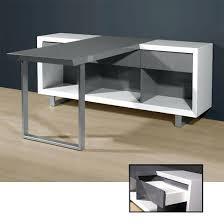 White High Gloss Computer Desk High Gloss White Office Desk Stylish Office Computer Desk In High
