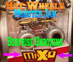Wheels Monster Jam Surprise Unboxing Max Special Walmart