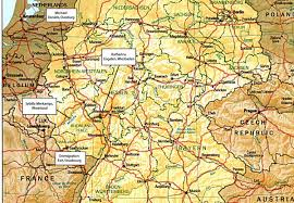 Bamberg Germany Map by The Germans