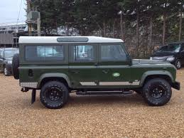 land rover used for sale used land rover defender 110 3 5 v8 county station wagon lpg