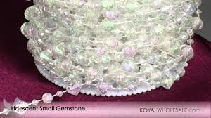 crystal beads u0026 garlands by the roll from koyal wholesale wedding