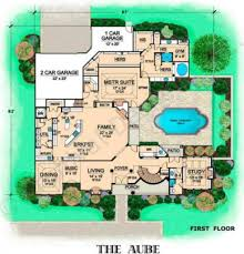 Floor Plan Of A Mansion by Aube Mansion House Plans Residential House Plans