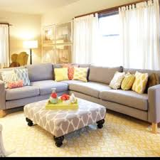 yellow and grey living room decoration ideas minimalist yellow