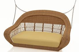 Swing Cushion Replacements by Forever Patio Catalina Wicker Swing Replacement Cushion Wicker Com