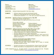 computer science resumes resume template computer science embersky me