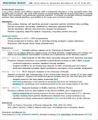 data scientist resume sle data scientist resume 7 exles in word pdf