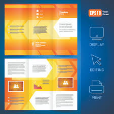 tri fold brochure free vector download 2 648 free vector for