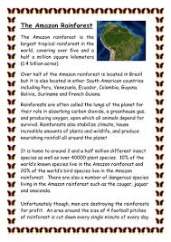 amazon rainforest and deforestation by jspall82 teaching