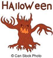 four angry evil tree four vectors