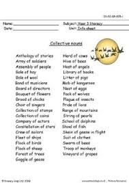 grade 4 collective nouns worksheet south africa google search