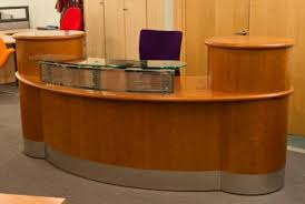 Reception Desk For Sale Used Used Reception Desks And Seating Chrystal Hill Ltd With Regard To