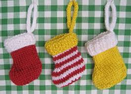 knitting patterns galore little christmas stocking for beginners