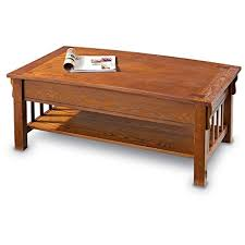 Lift Top Coffee Tables Amazon Com Castlecreek Mission Style Lift Top Coffee Table
