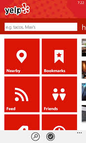 Home Design App Windows Phone by Say Hello To The New Windows Phone 8 Yelp App Yelp