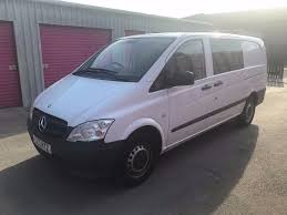 mercedes vito vans for sale mercedes vito 113cdi lwb dualiner crew 2013reg for sale in