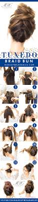 sock hair bun 10 easy and hair tutorials for any occassion