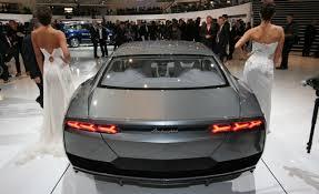 lamborghini 4 door car lamborghini estoque four door 170mph concept in showrooms by 2011