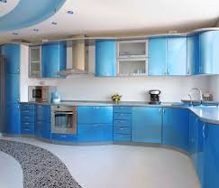 Painted Blue Kitchen Cabinets Kitchen Decorating Painting Kitchen Cabinets Royal Blue Kitchen