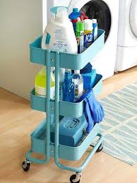 ikea wheeled cart 60 smart ways to use ikea raskog cart for home storage digsdigs
