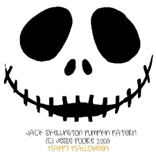 nightmare before christmas pumpkin stencils free printable skellington pumpkin carving stencil templates