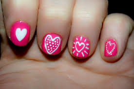 cute heart nail designs u2013 slybury com