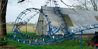 Backyard Roller Coaster For Sale by Indy Oddities