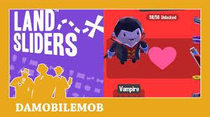 hallow ween land sliders vampire unlock secret character unlock halloween