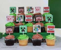 minecraft cupcake ideas 17 bästa bilder om minecraft bday på svärd minecraft