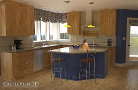 architect kitchen design kitchen architectural renderings from castleview3d com