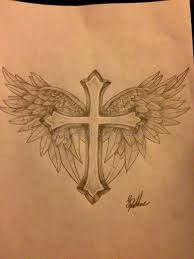 cross tattoos with wings 6 best tattoos ever