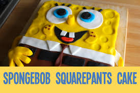 how to make a spongebob squarepants cake ad youtube