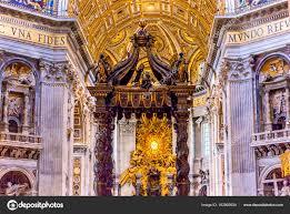 baldacchino by bernini basilique bernin baldacchino esprit du vatican rome italie