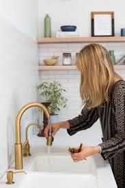 kitchen faucet ideas polished brass kitchen faucet home design ideas