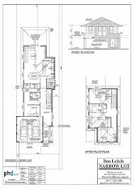 craftsman style house floor plans house plan fresh narrow lot craftsman style house plans narrow