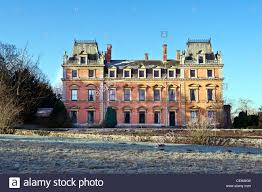 english country house built of brick in the style of a french english country house built of brick in the style of a french chateau but in victorian times 19 th century