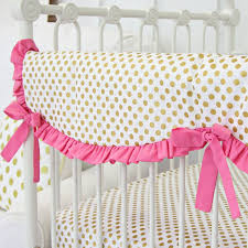 nursery beddings pink and gold bedding pink and gold damask