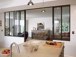 separation cuisine salle a manger cloisons en cuisine jouez la transparence séparation