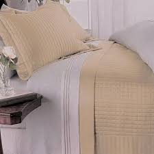 Gold Quilted Bedspread Modern Solid Gold Yellow Reversible Quilt Coverlet Set Luxury