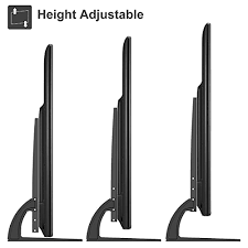 Monitor Pedestal Stand 1home Universal Table Desk Pedestal Tv Stand Tabletop Screen