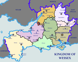 Wessex England Map by The Kingdom Of Wessex Imaginarymaps