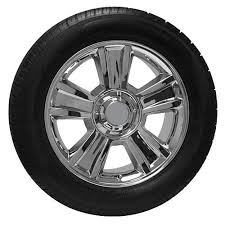 Truck Wheel And Tire Packages 20 Chrome Chevy Silverado Tahoe Truck Wheel Tire Package Usarim