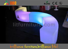 snake led light bar bar furniture led lighting curved stool with round and snake setting