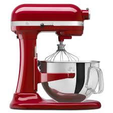 Red Kitchenaid Toasters Kitchenaid 6 Quart Pro 600 Stand Mixer Refurbished Free Shipping