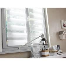 store de cuisine store enrouleur jour nuit inspire blanc blanc n 0 41 x 160 cm
