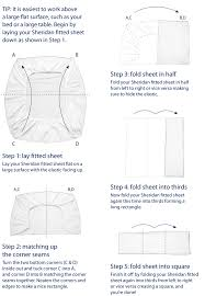 Folding C Bed Website How To Fold A Fitted Sheet Organize Me