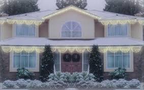 impressive design swag lights set of 150 clear white