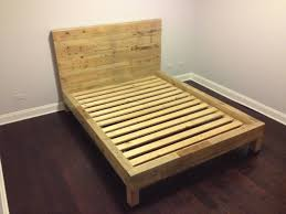 king size pallet bed with mattress picture queen size wood pallet