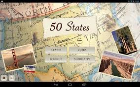The 50 States Map by 50 States Android Apps On Google Play