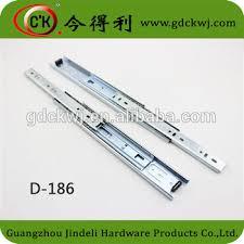 kitchen cabinet drawer slide channel 45 kg heavy duty under mount